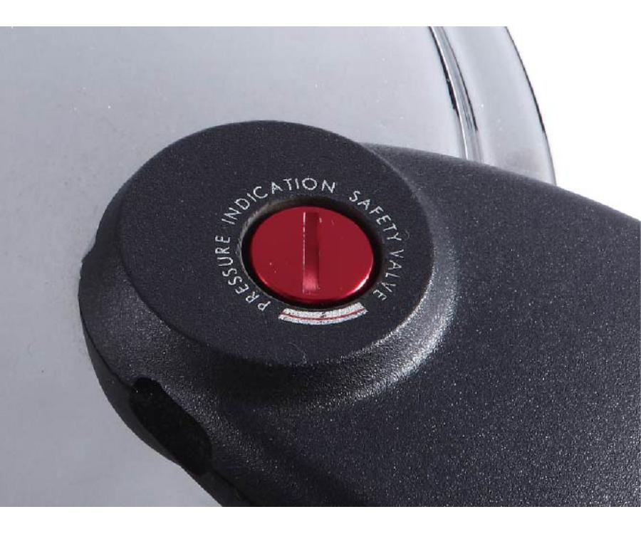 壓力指示閥上升表示鍋內有壓力不宜開鍋蓋