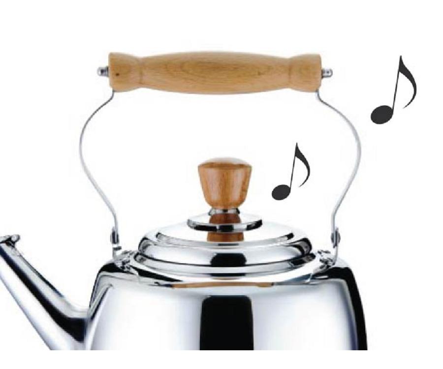 煮水沸騰,優雅琴音提示
