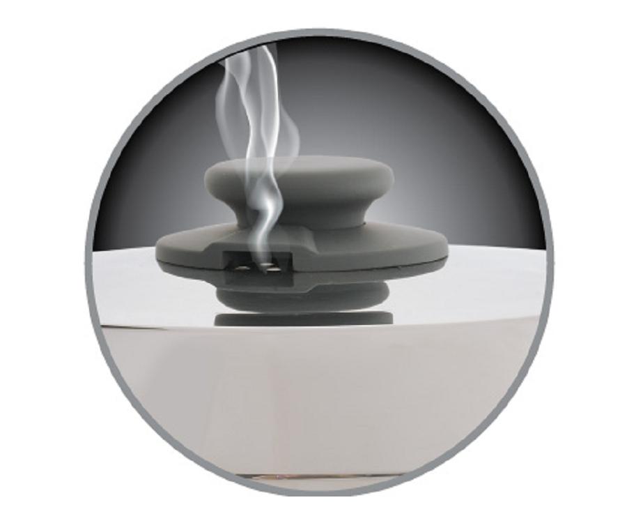 透氣孔設計,水份不回留