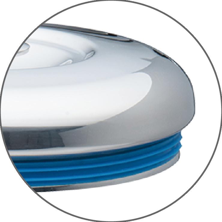 新增防溢矽膠圈,鍋蓋鍋身更密合