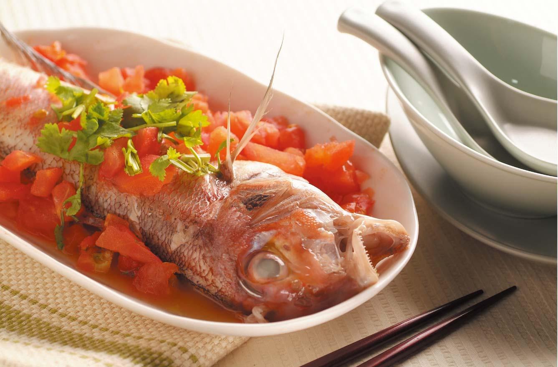 蕃茄檸檬魚