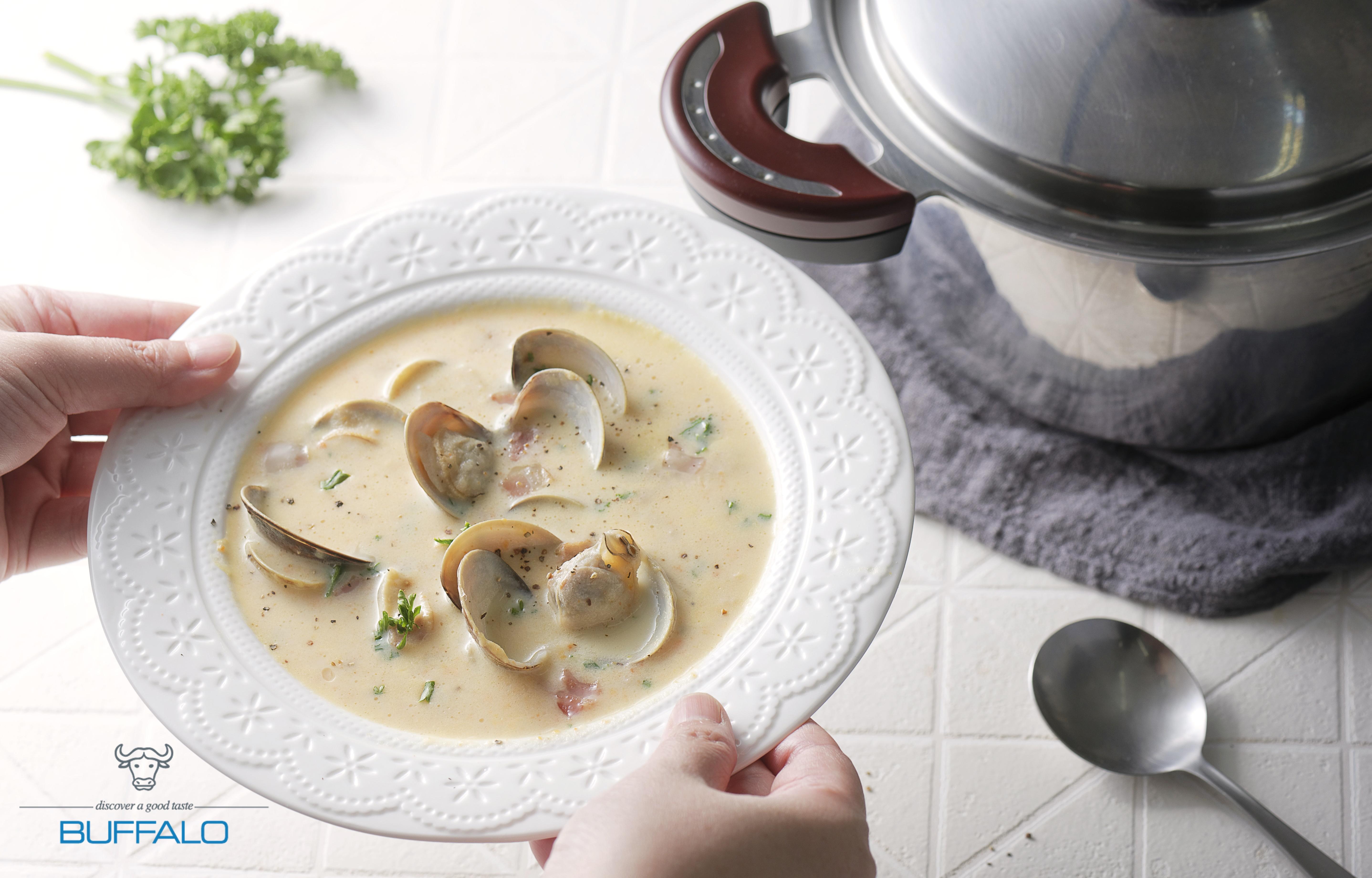 巧達蛤蜊濃湯