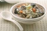 糙米菇菇粥