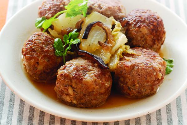 白菜牛肉丸